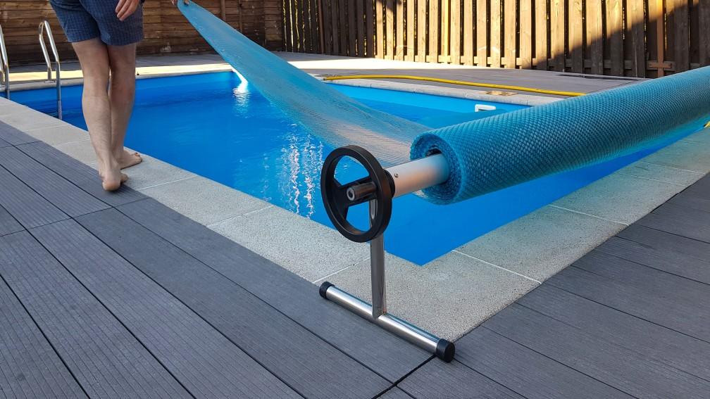 pompe couverture piscine